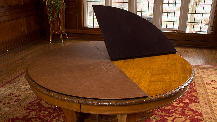 Custom Dining Table Pad For Thomasville Table Table Pad Shoppe Com