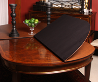 custom dining table pad for stickley table table pad shoppe com rh tablepadshoppe com